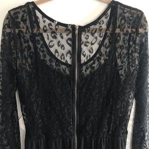 NWT Volcom Dress.  Black animal print.
